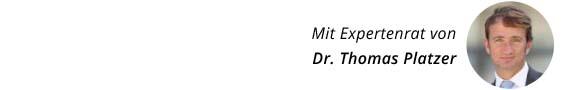 Expertenrat Dr. Thomas Platzer