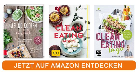Kochbücher zum Thema Clean Eating