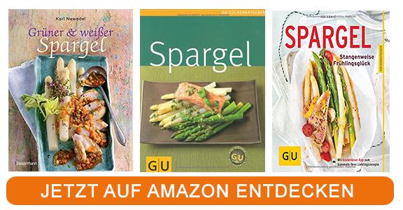 Kochbücher zum Thema grüner Spargel