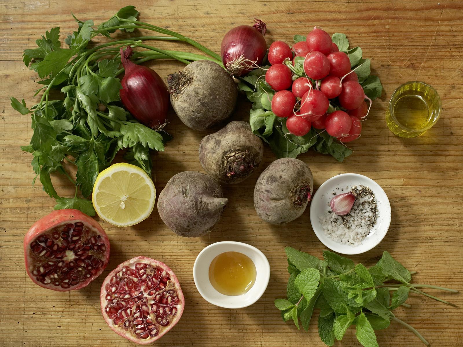 libanesischer rote bete salat rezept eat smarter. Black Bedroom Furniture Sets. Home Design Ideas