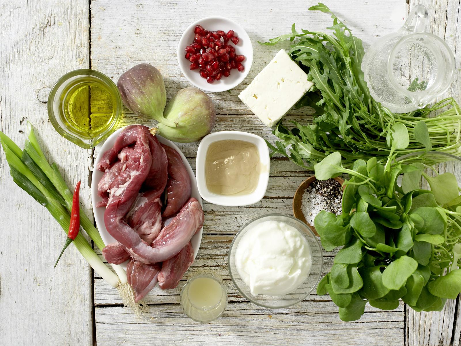 lammfilet auf portulak rucola salat rezept eat smarter. Black Bedroom Furniture Sets. Home Design Ideas