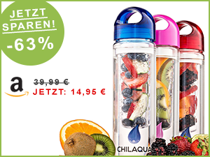 trinkflasche infuser