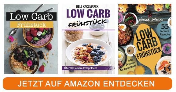 Kochbücher zum Thema low carb Frühstück