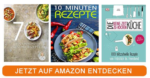 Kochbücher zu Thema schnelle Gerichte