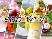1500-Kalorien-Tag zum Frühlingsstart