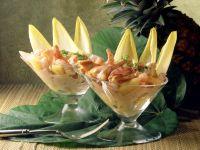 Ananas-Krabben-Cocktail