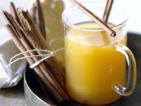 Ananaspunsch mit Ingwer und Zimt
