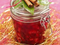 Apfel-Cranberry-Konfitüre