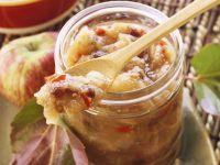 Apfel-Paprika-Chutney mit Rosinen