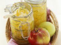 Apfelkonfitüre mit Birne und Estragon