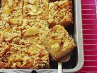 Apfelkuchen mit Nussstreuseln
