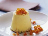 Aprikosen-Maracuja-Creme mit Pistazien