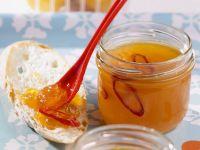 Aprikosengelee mit Chili