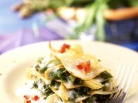 Artischocken-Rucola-Lasagne