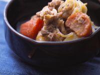 Asiatisches Rindfleisch mit Gemüse