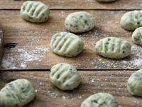 Auberginen-Basilikum-Gnocchi
