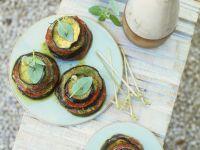 Auberginen-Tomaten-Antipasti