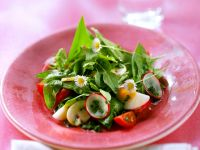 Kochbuch für Bärlauch-Salate
