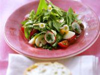 Bärlauch-Spinat-Salat
