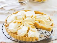 Banana-Pie mit Syrup