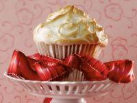 Bananen-Cupcake mit Baiser