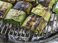 Grillen ohne Alufolie: Bananenblätter