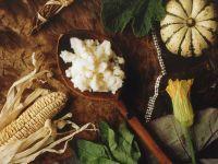 Bantu Brei (Südafrikanisches Gericht aus Maismehl)