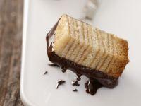 Baumkuchen mit Schokoladenglasur