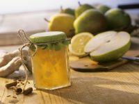 Birnen-Ingwer-Marmelade mit Zimt