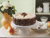 Birnen-Schokoladen-Torte