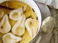 Birnenkompott mit Vanille und Nelken