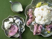 Blumenkohl mit Roastbeef