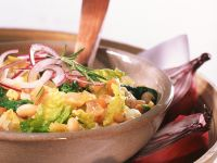 Bohnen-Gemüseeintopf