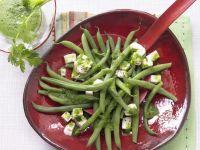 Bohnen-Mozzarella-Salat