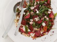 Bohnen-Rote Bete-Salat