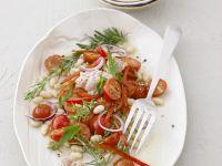 Bohnen-Tomatensalat mit Bohnen