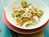 Bratkartoffel-Kohlsalat