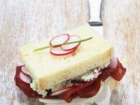 Bresaola-Sandwich