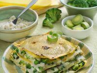 Brokkoli-Lauch-Lasagne