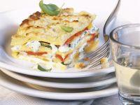 Bunte Lasagne