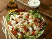 Bunter Pasta-Gemüse-Salat