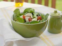 Bunter Salat mit Gemüse
