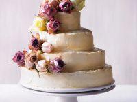 Buttercreme-Hochzeitstorte