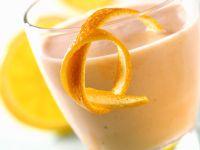 Buttermilch-Sanddorn-Drink