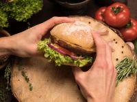 Bux Burger aus Würmern