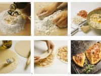 Calzone zubereiten