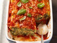 Cannelloni-Auflauf
