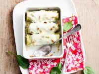 Cannelloni mit Spinat und Mozzarella