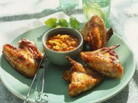 Chicken Wings mit Mangosauce