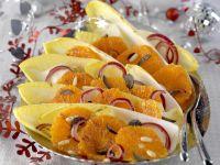 Chicoréesalat mit Orange